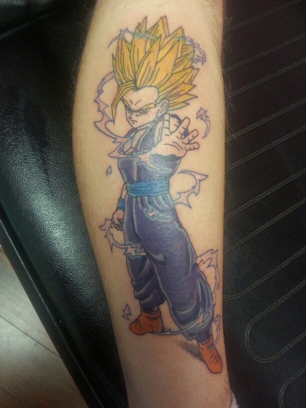 Gohan Tattoo Designs Dragonball z Gohan Sup...