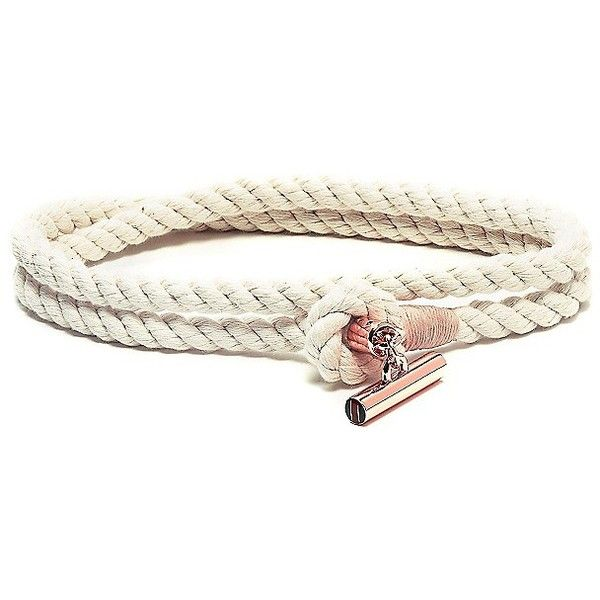 Tommy Hilfiger Made In America Toggle Belt (135 PEN) ❤ liked on Polyvore featuring accessories, belts, tommy hilfiger, slimming belt, nautical belt, nautical rope belt and wide belt