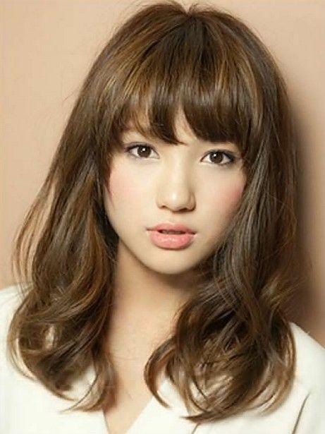 Model Rambut Wanita Korea Gaya Rambut Potongan Rambut Sedang Potongan Rambut