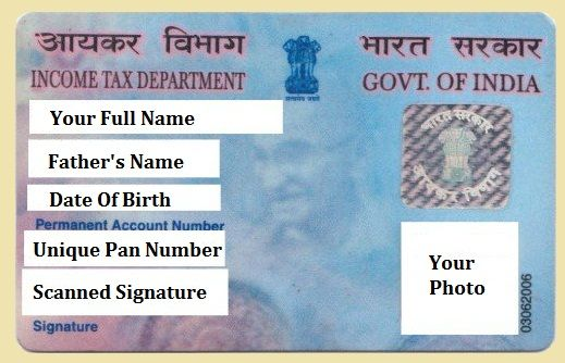 Pan Card Is A Permanent Account Number Card It Is Introduced By Income Tax Department Pan Card Contain 10 Digits Things To Sell Inheritance Money Income Tax