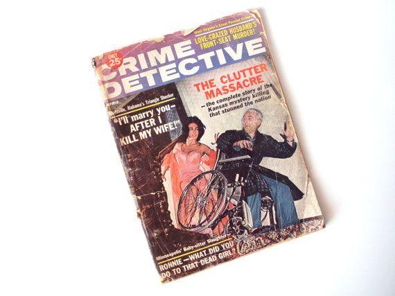 Vintage Crime Detective Pulp Magazine, April, 1964 by PoorLittleRobin