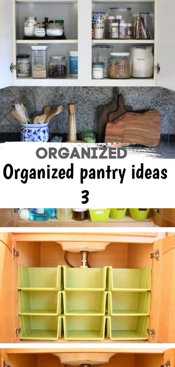 Organized pantry ideas 3 #organizemedicinecabinets