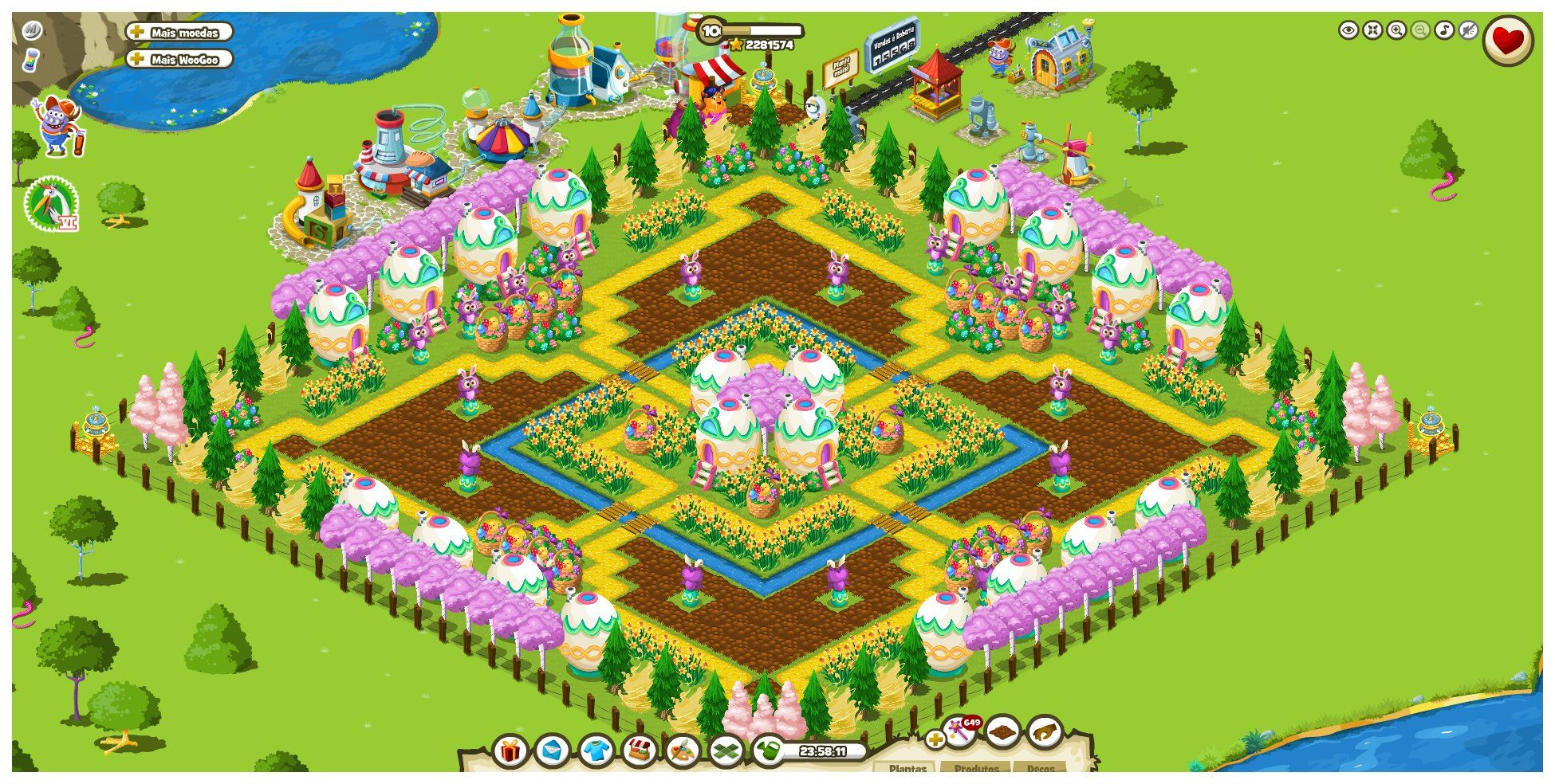 Monster world fan garden by isabel mw