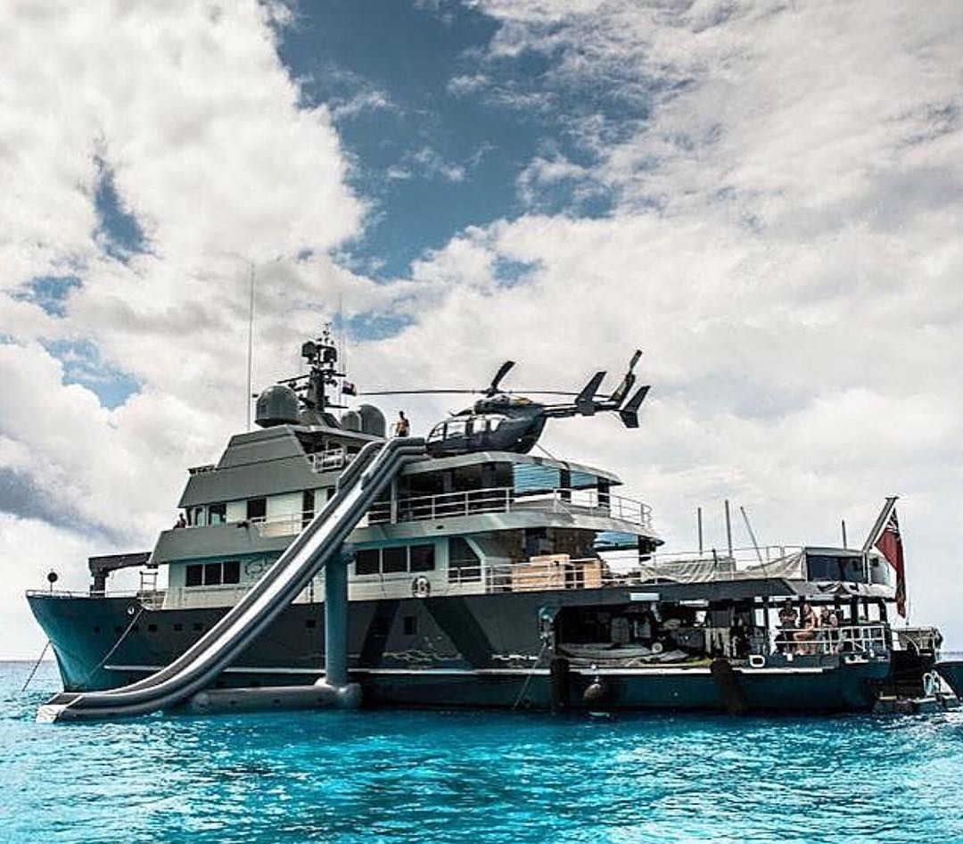 Fun Day On Plan B Helicopter Yacht Megayacht Superyacht Yachthelicopters