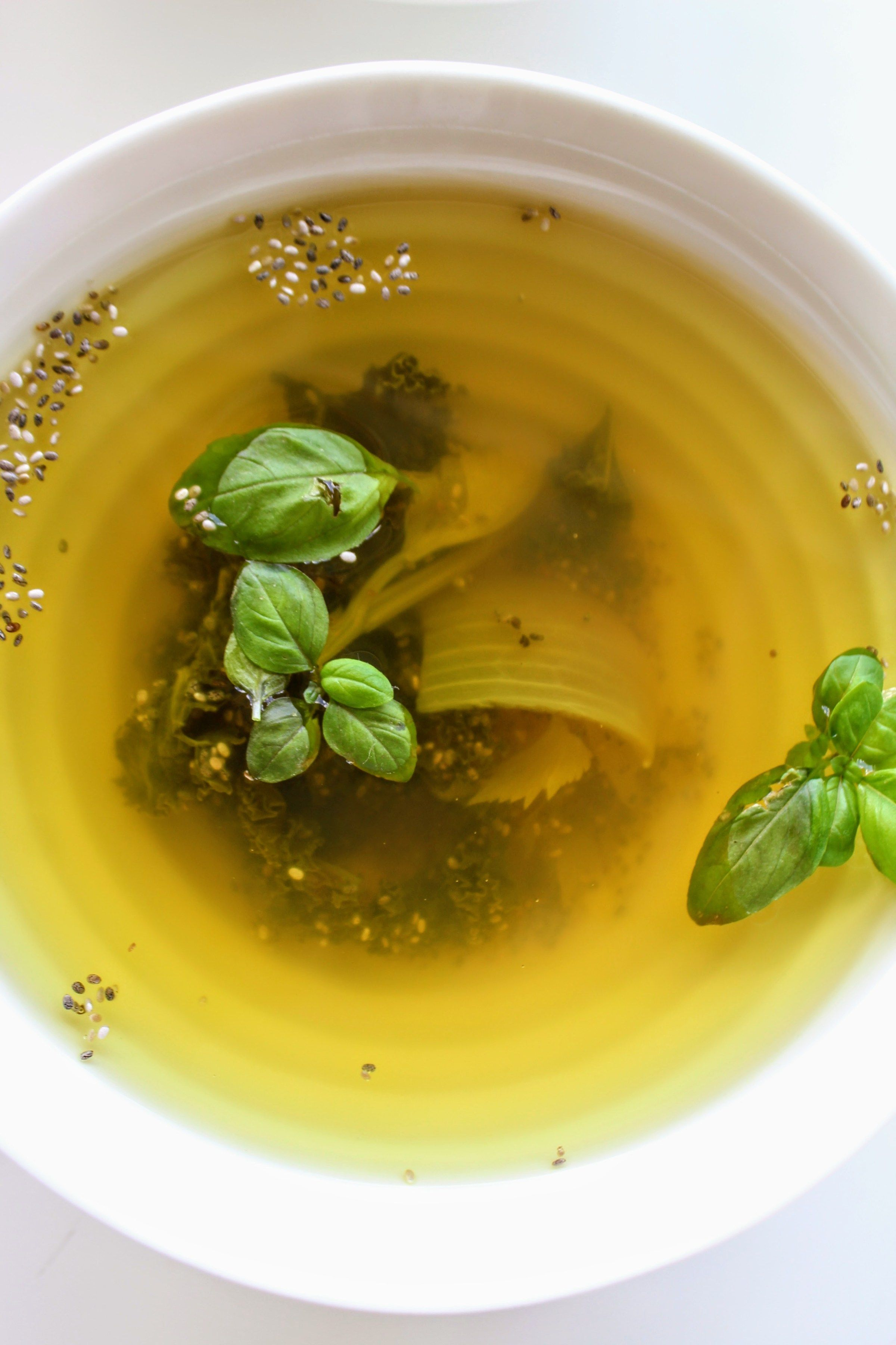Cleansing Detox Vegetable Soup - Annie Bri