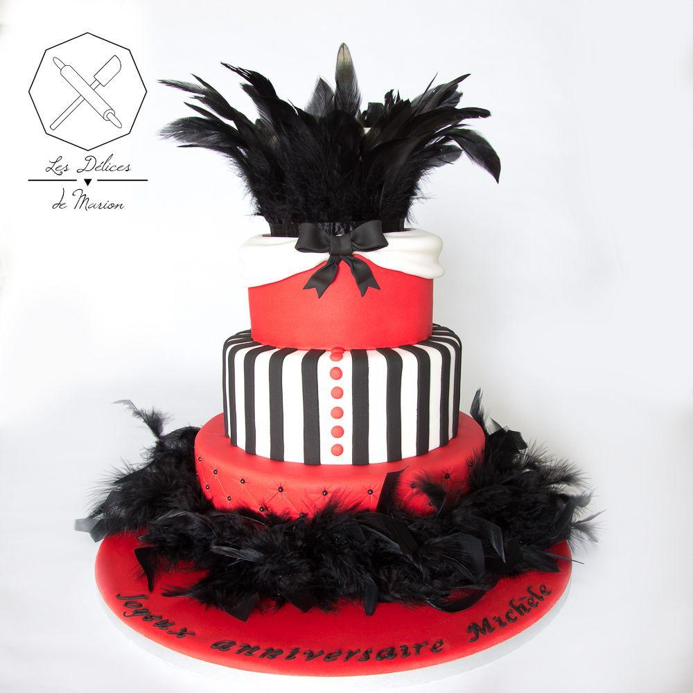 Cake design. Gâteau personnalisé en pâte à sucre sur le thème ...