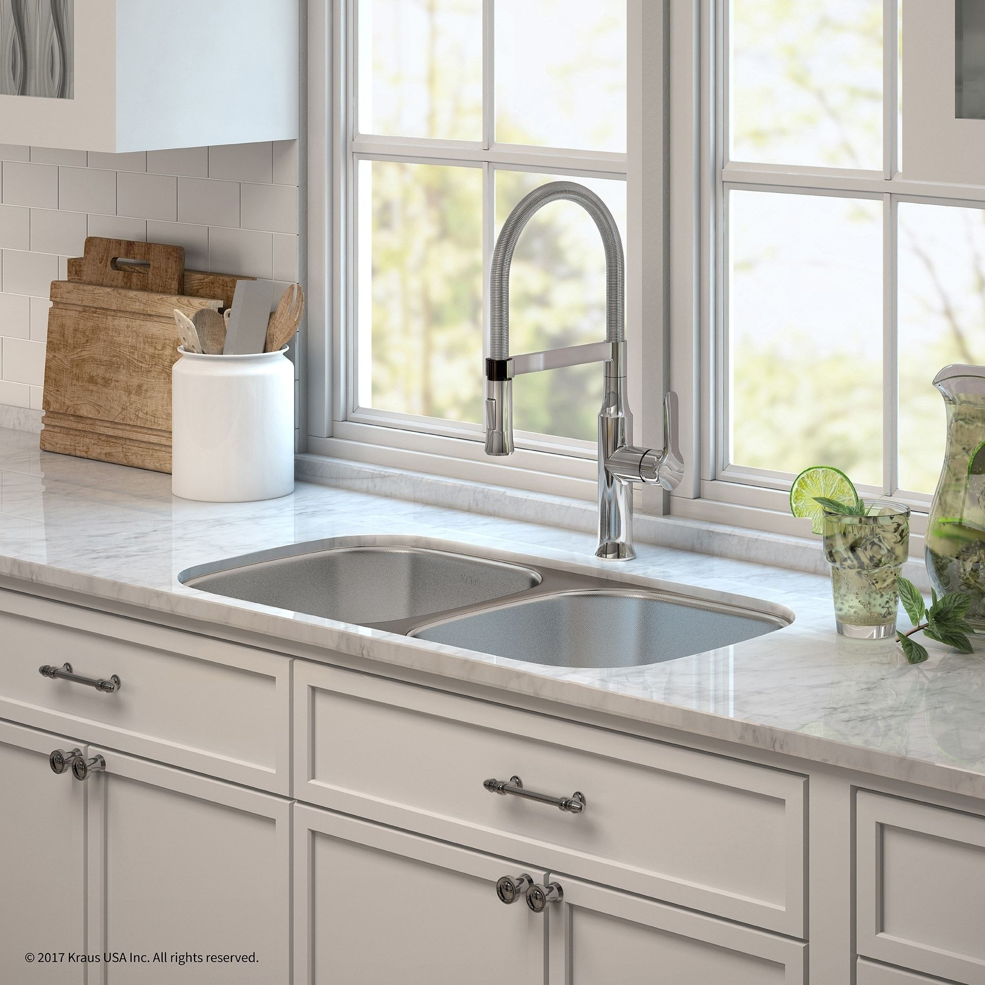 Kraus 32 Kitchen Sink & Nola Commercial Faucet With Soap Dispenser Unique Kitchen Sink Soap Dispenser 2018