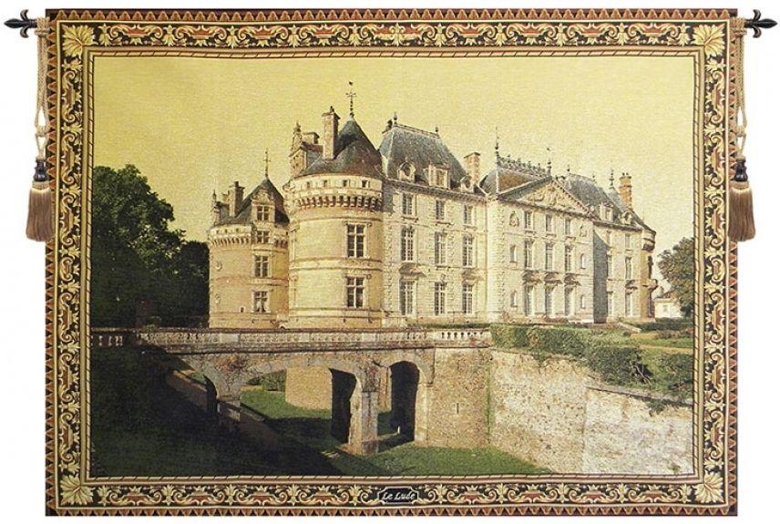 Le Lude French Castle II Belgian Wall Tapestry | Final Picks ...