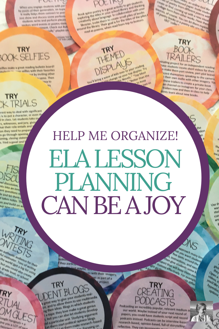 The Ed Deck: Lesson Planning Inspiration