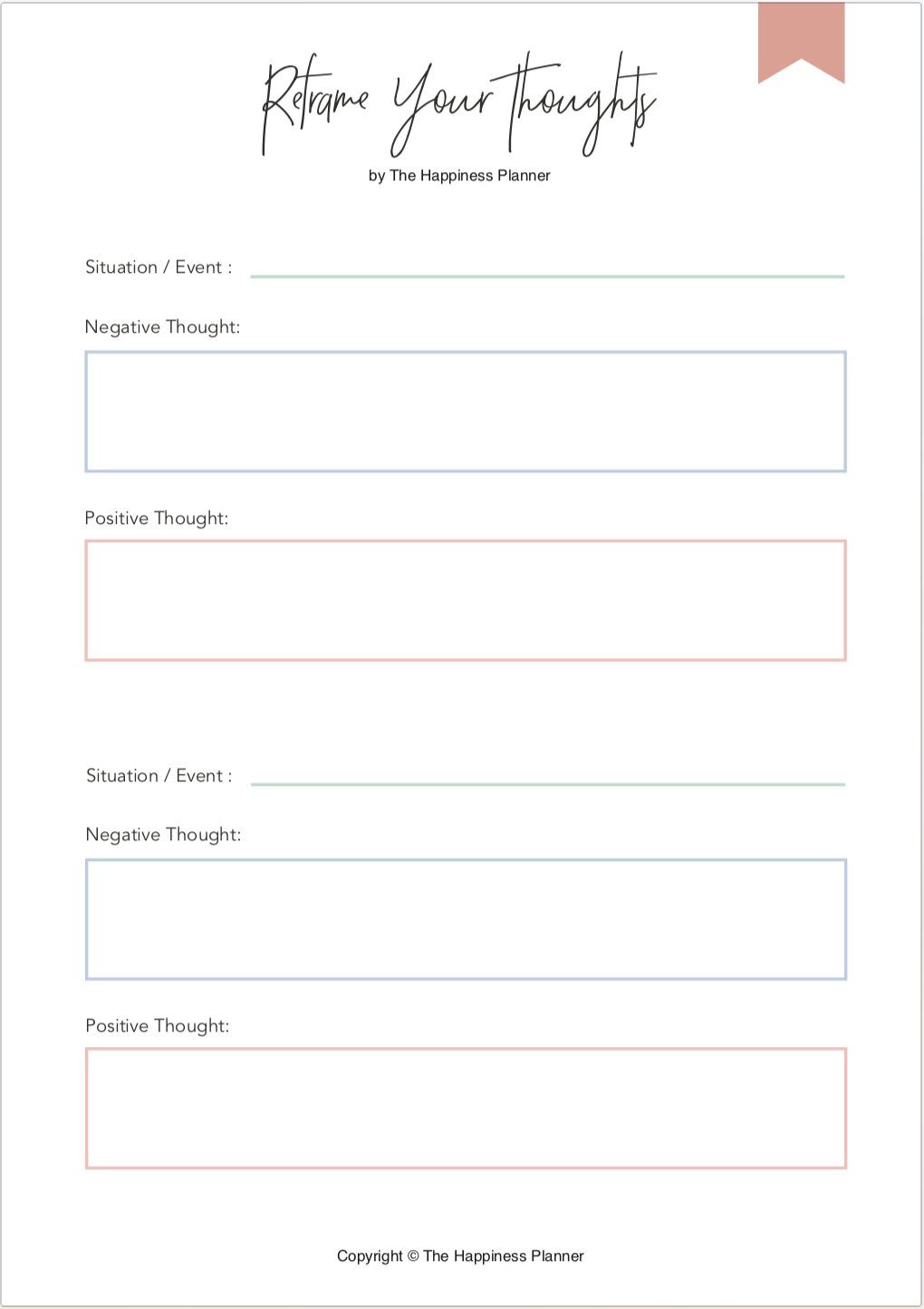 Printables Perspective   Therapy worksheets, Mindfulness ...