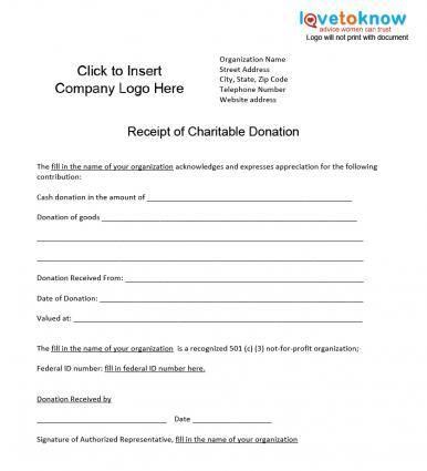 Charitable Donation Receipt #charitable #car #donation   - donation slip sample