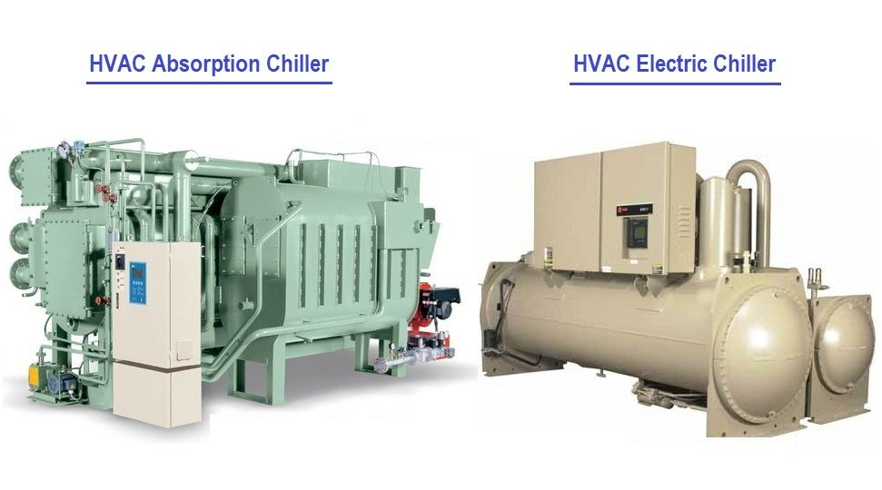 Difference Between Hvac Absorption Chillers And Electric Chillers