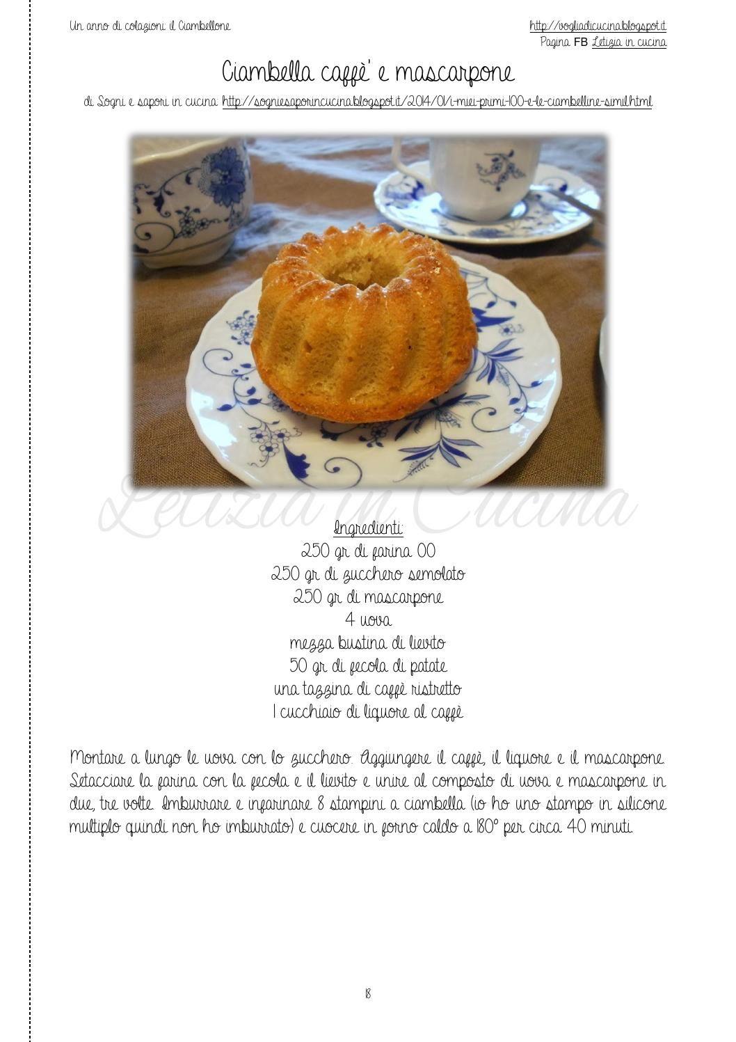 Un anno di colazioni: il Ciambellone | Cucina