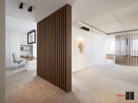 22 Muros divisorios de madera