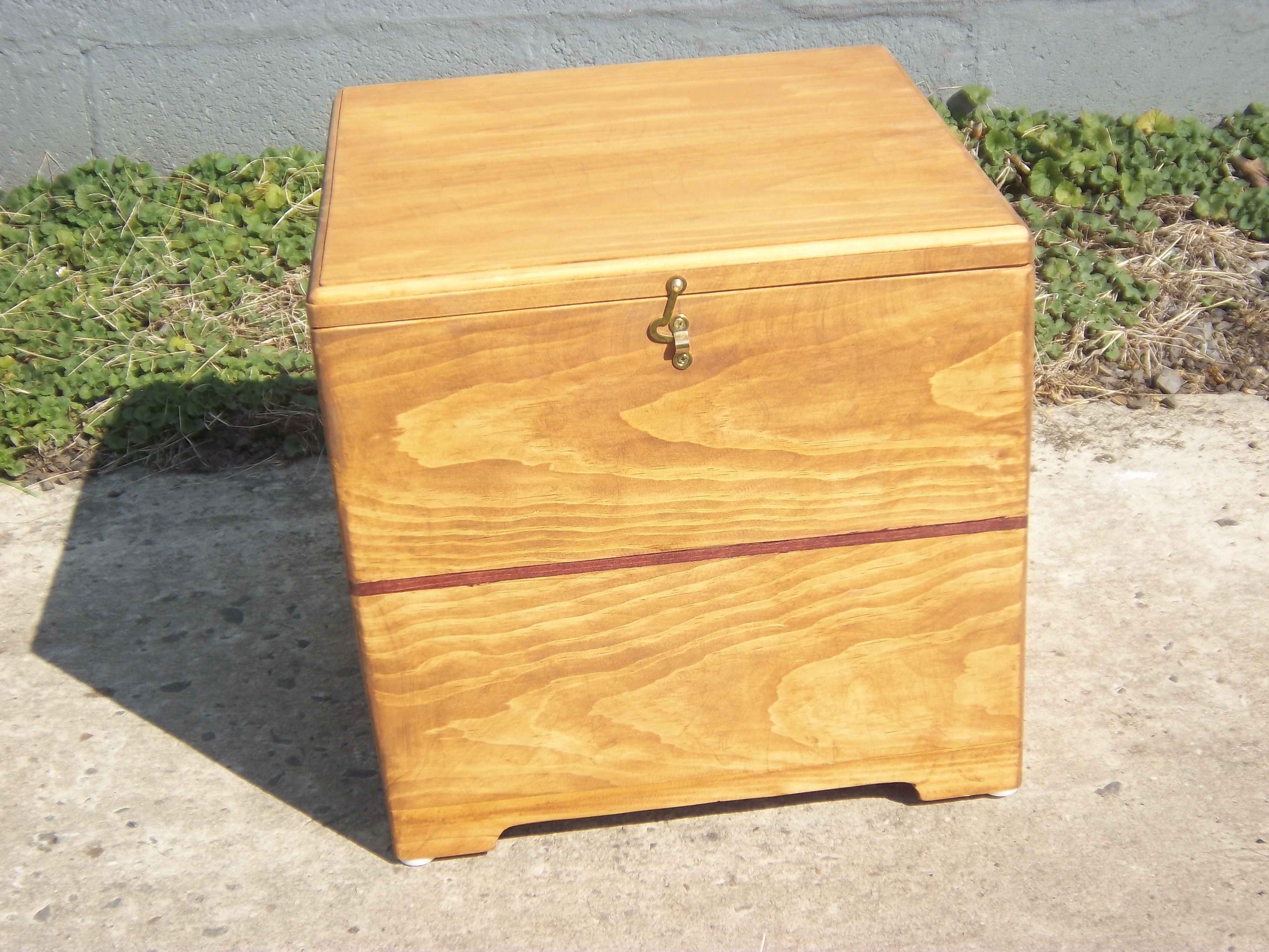 Great Candle Storage Box # 1 , With Inlay