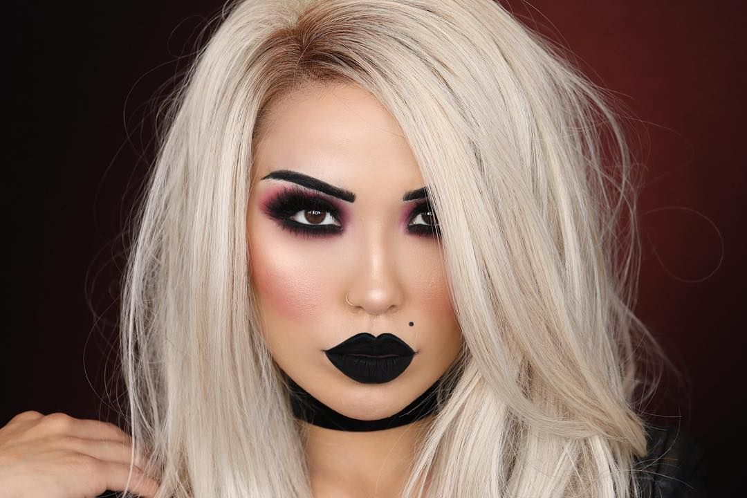 Call Me Tiffany In Case You Missed It I Uploaded This This Super Last Minute B Brideofchucky H Bride Of Chucky Makeup Bride Of Chucky Chucky Halloween