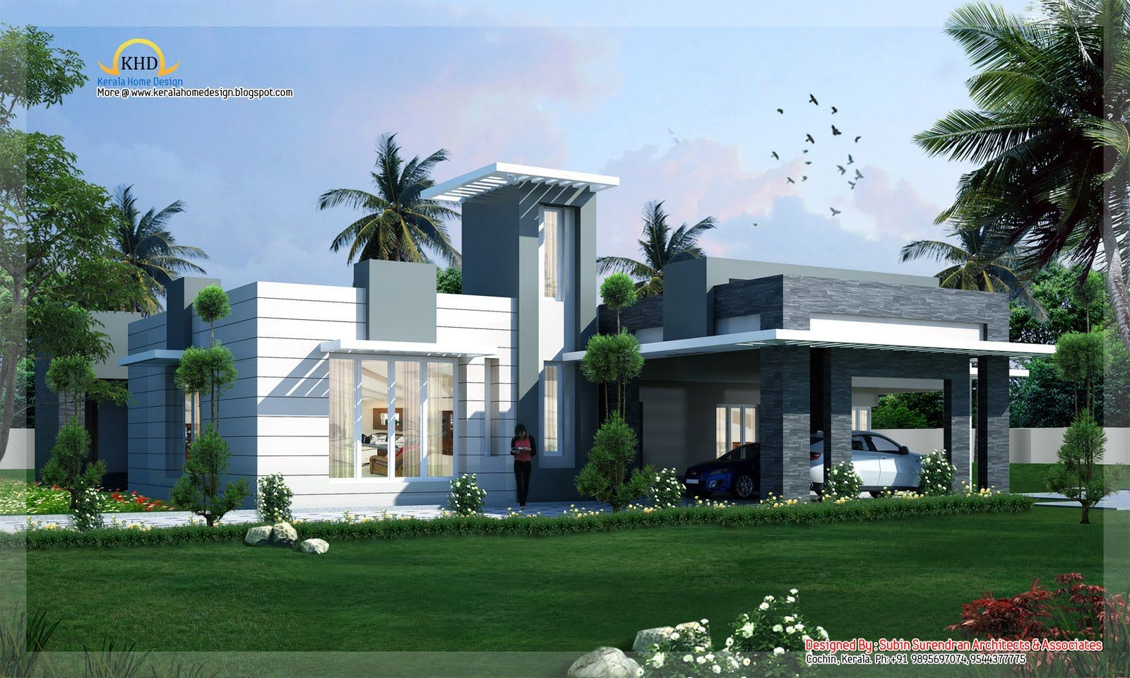new house designs | contemporary home design - 418 sq m (4500 sq