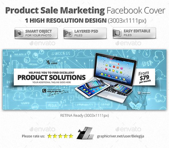 Product Sale Marketing Facebook Covers Facebook, Font logo and Fonts - marketing timeline template