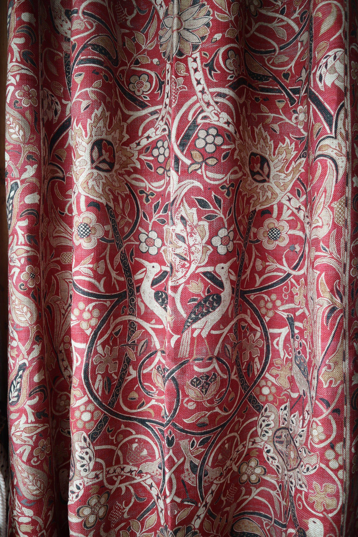 William Morris Bullerswood Extra Heavy Winter Portiere Door
