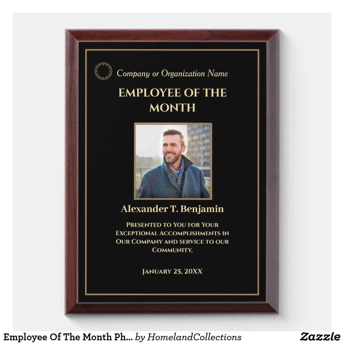 Employee Of The Month Frame Google Search Poster Template Frame Template Printable