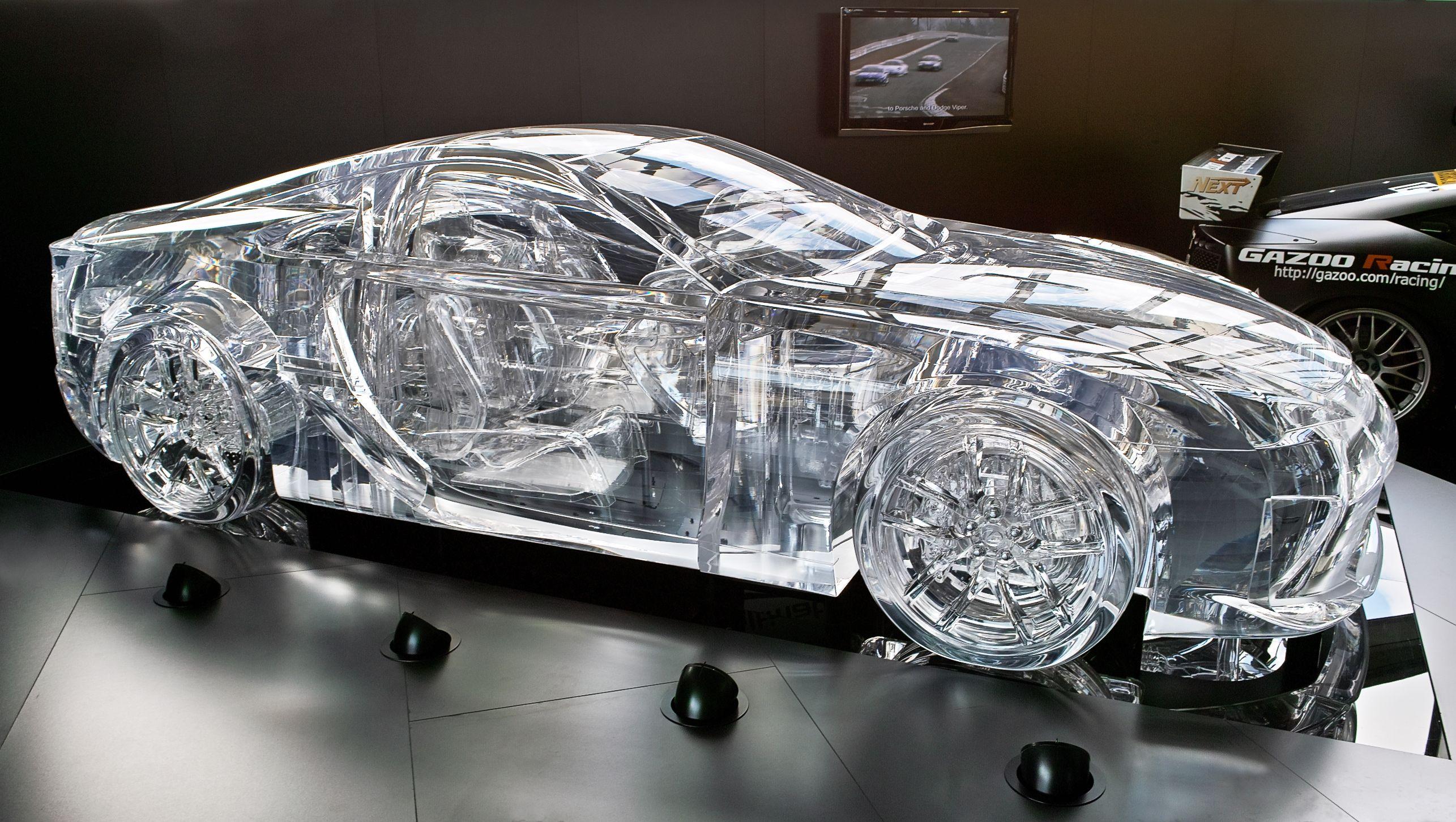 Beau U201cLexus Transparent Caru201d Iu0027m Pretty Sure Those Wheels Donu0027t Grip Too Well