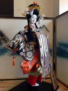 What is a japanese gofun geisha