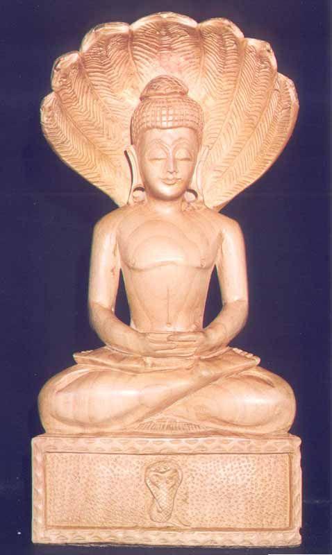 Buddha sheltered by muchalinda - Google Search