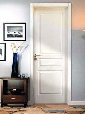 Puertas interiores l nea moldeada calidad master for Puertas interiores blancas modernas