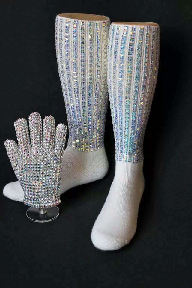Michael Jackson socks and glove
