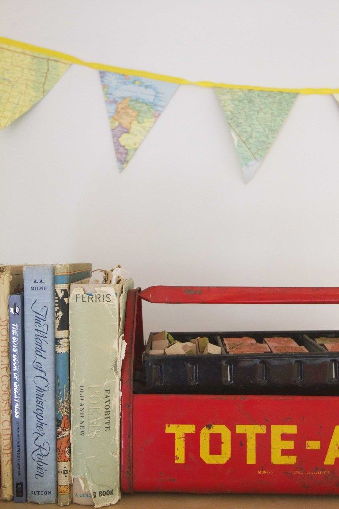 DIY: How to Make Your Own Map Bunting