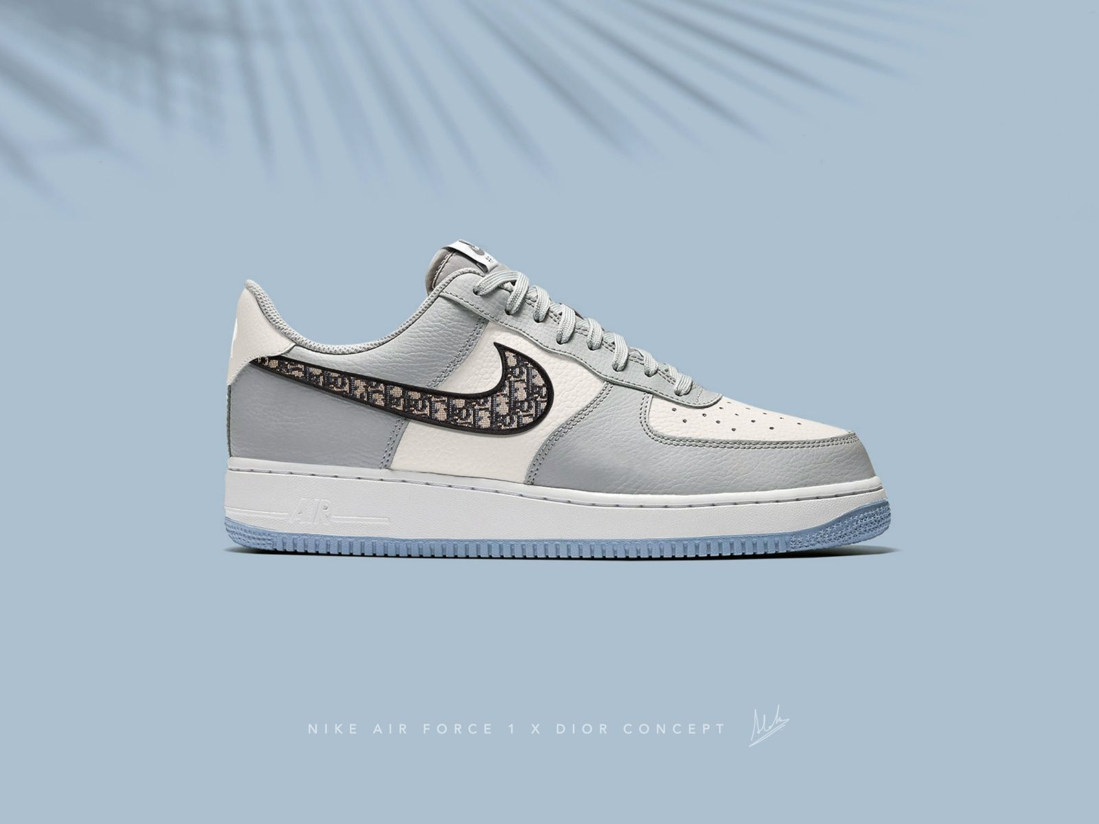Nike AirForce 1 x Dior | Sneakers men fashion, Nike airforce 1, Nike