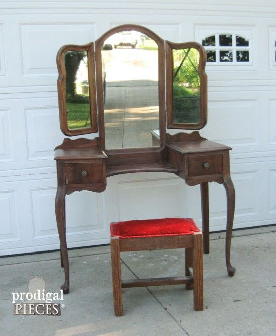 Vanity from The Vaughan Furniture Co Charlottesville VA by Witkin Furniture