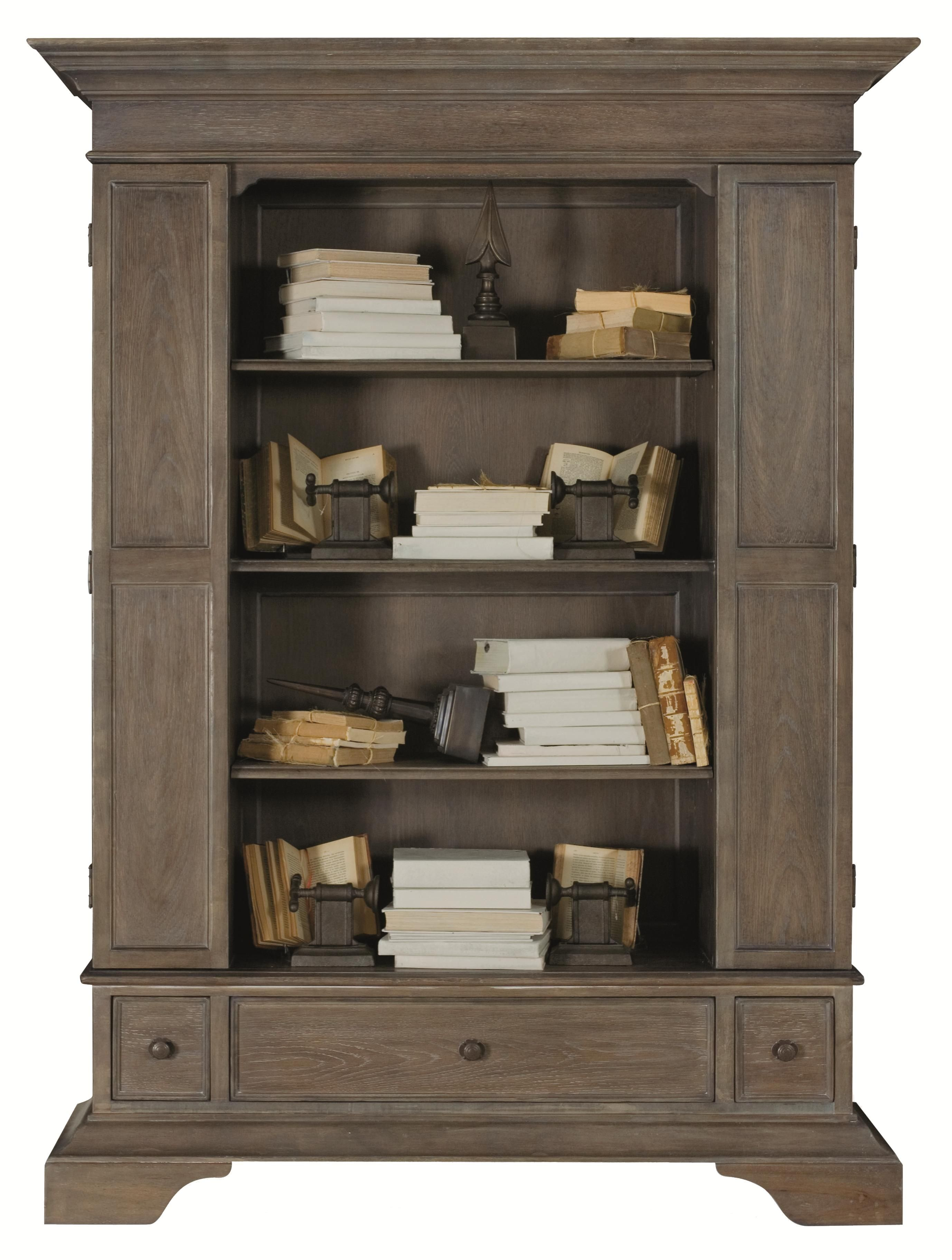Belgian Oak Bookcase by Bernhardt, living room idea Мебель