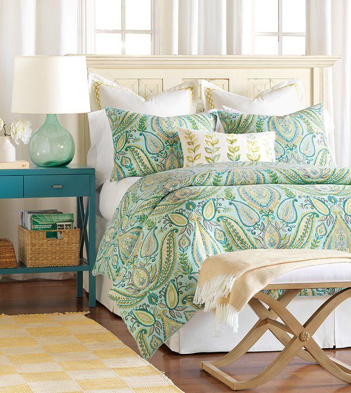 Barrymore   Coastal, Tropical, Luxury Bedding, Beachy, Designer, Home Decor,