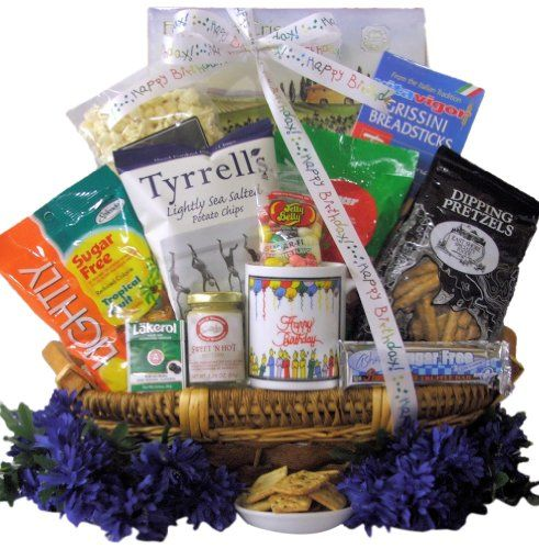 Great arrivals gourmet birthday gift basket sugar free birthday sugar free gift baskets are great for the diet conscious theres a diabetic gift basket and healthy gift baskets galore negle Gallery