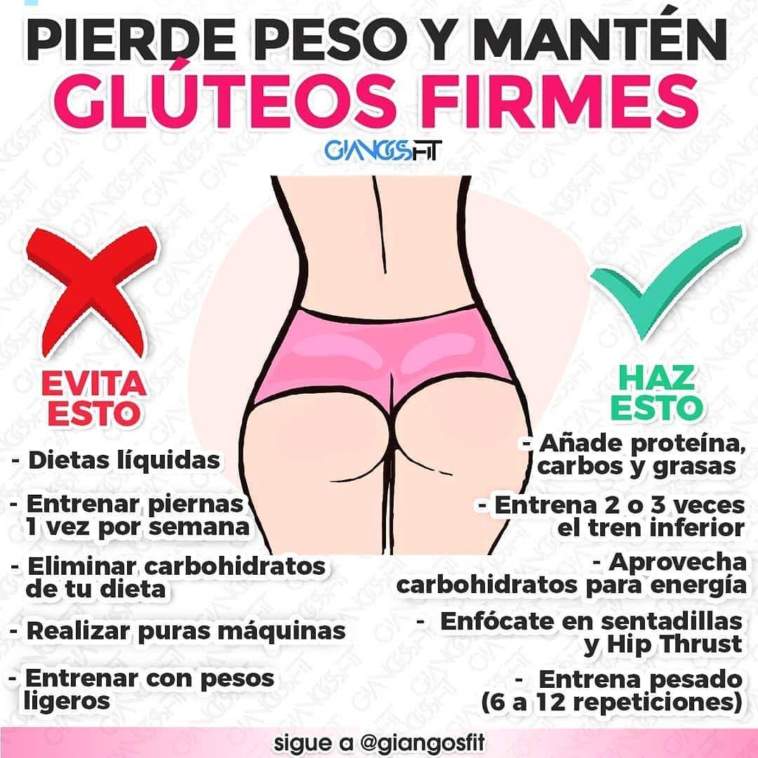 pierde gluteus fat maximus