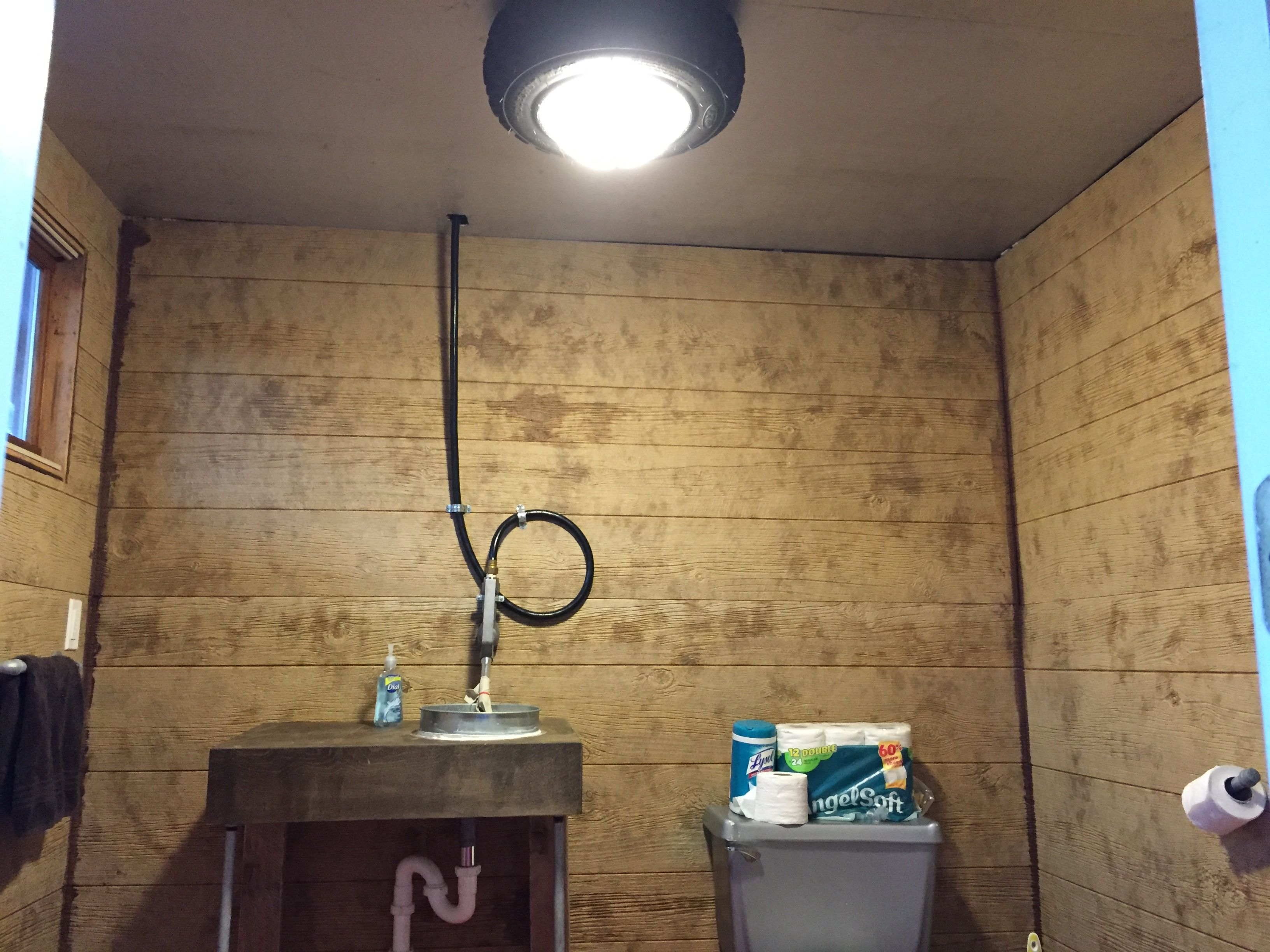 ATV Rim with Project Source 11 inch 2 light pack from Lowes. 10 foot ...