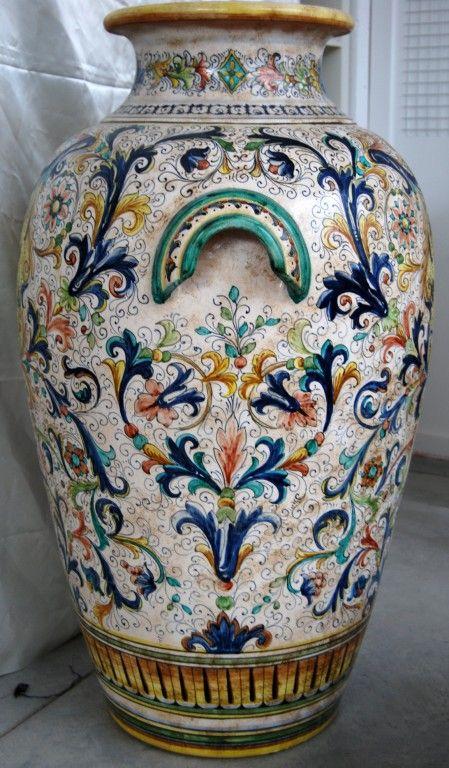Vase Large Italian Ceramics