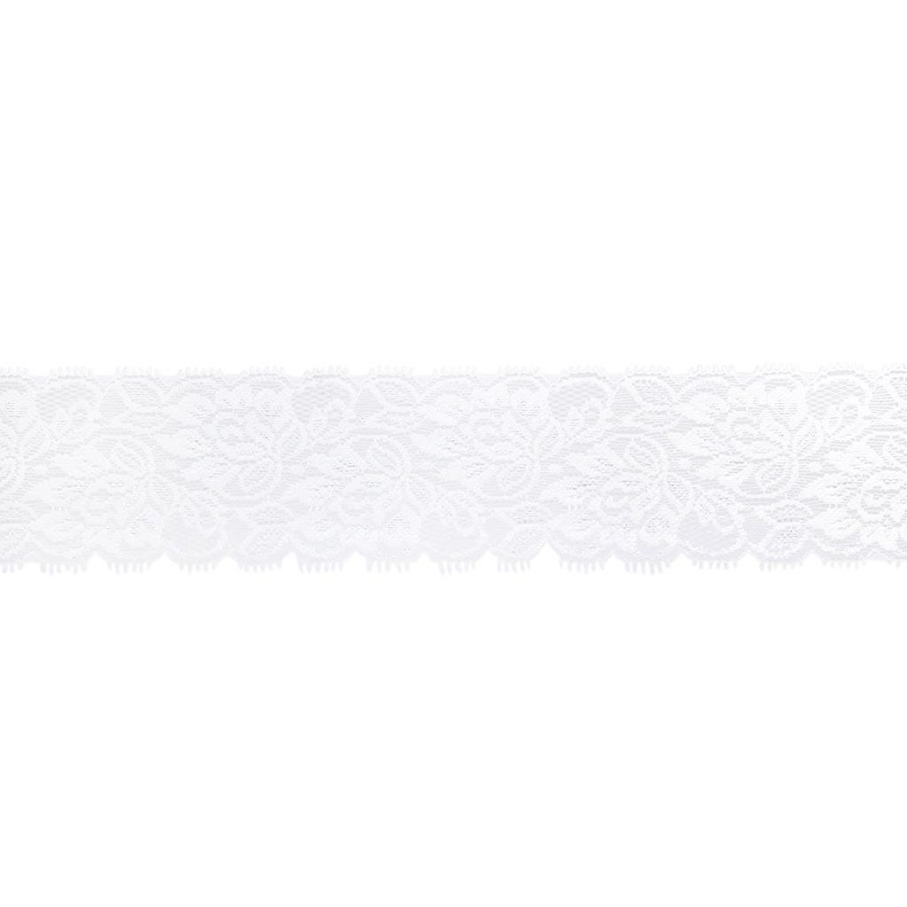 5Yards Elastic Flower Lace DIY Trims Cloth Sewing Craft Dress 3.15Inch *** Click image to review more details.