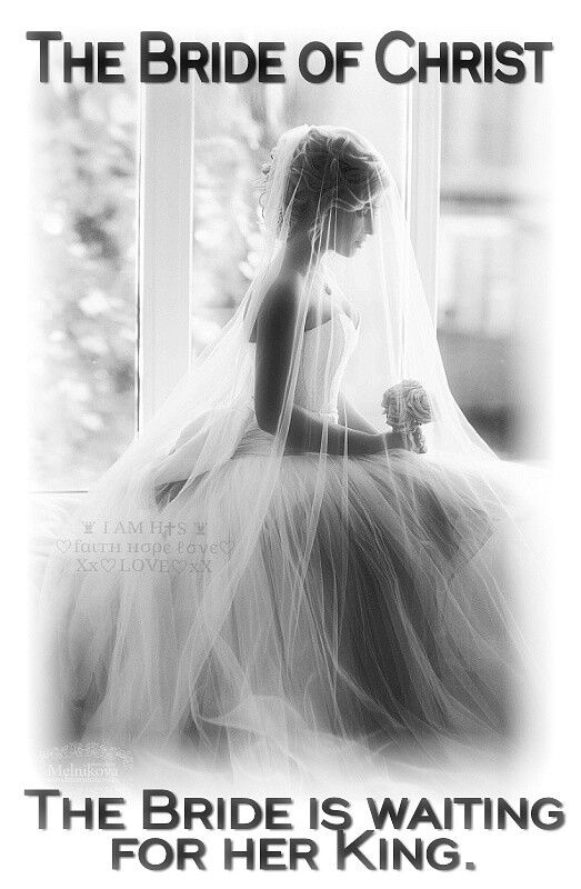 The Bride Of Christ The Bride Is Waiting For Her King I