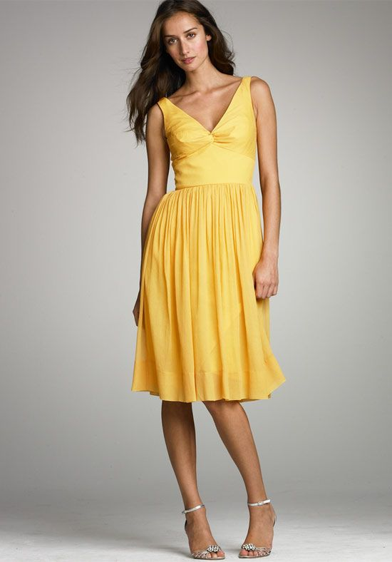 yellow bridesmaid dresses | Wedding Dresses Brides Maid Dress ...