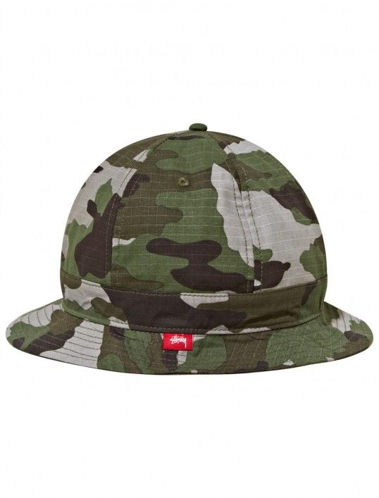 193923428a1 Summer Camo 6 Panel Bucket Hat