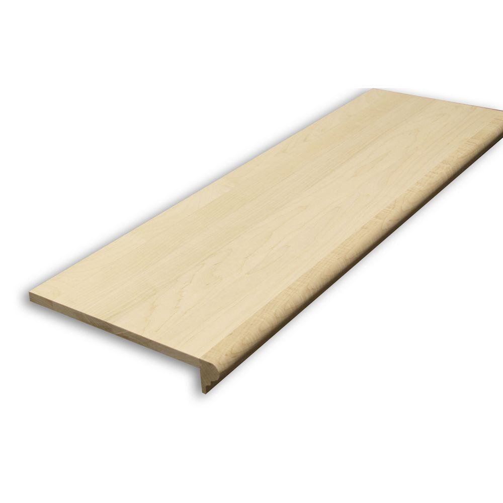 Best Stairtek 625 In X 11 5 In X 36 In Unfinished Maple 640 x 480