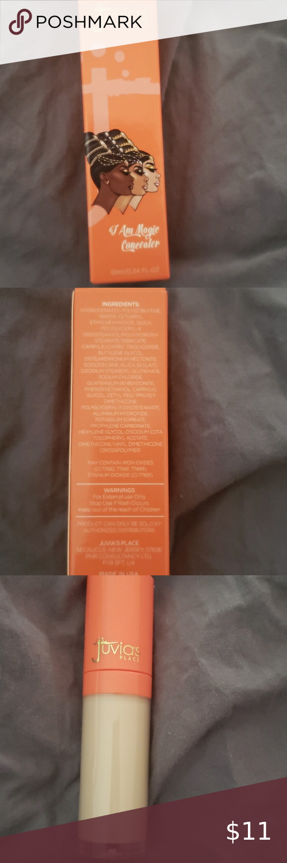 Juvias place concealer in shade 23 (10 ml) Brand new never opened or used. Juvia's Place Makeup Concealer
