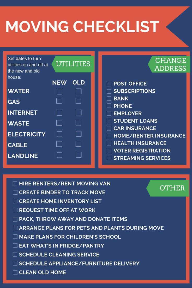Must Have Moving Checklist And Stress Saving Tips Moving