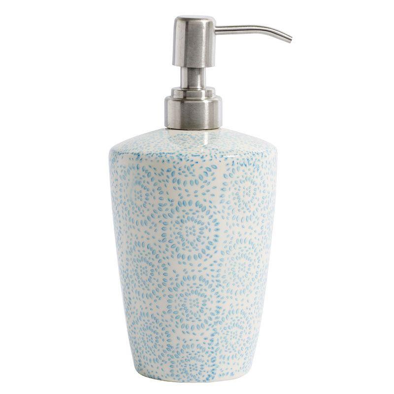 badezimmer accessoires turkis, seifenspender blossom in türkis produktinformationen und, Design ideen