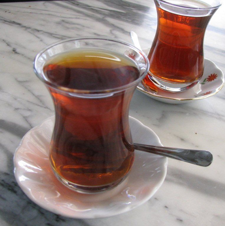 Cant function without my turkish tea :)