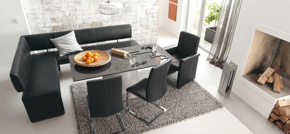 Black Dining Room Set Musterring Eng