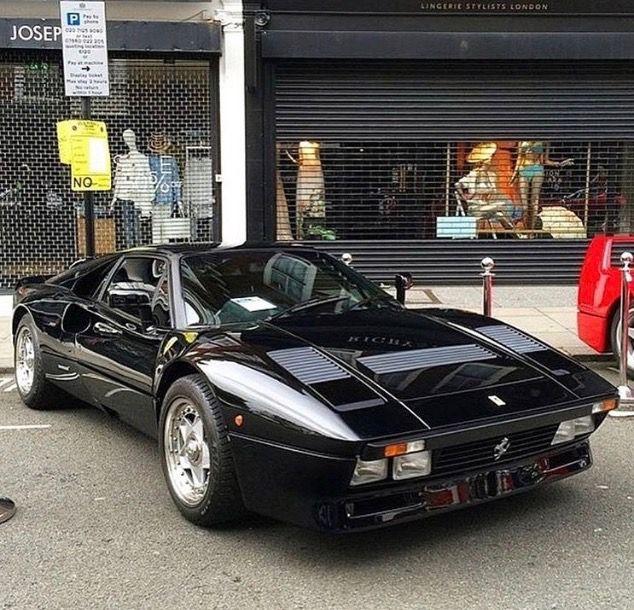 Gto Black Ferrari 288 Gto Ferrari Classic Cars