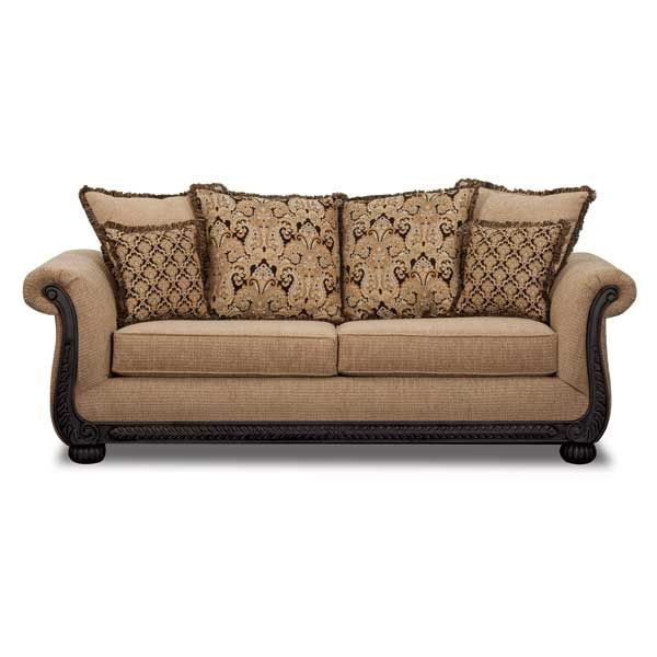 American Furniture Warehouse -- Virtual Store -- Taupe Sofa with ...